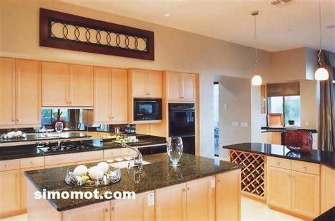 desain interior dapur mewah foto desain interior dapur kayu mewah 113
