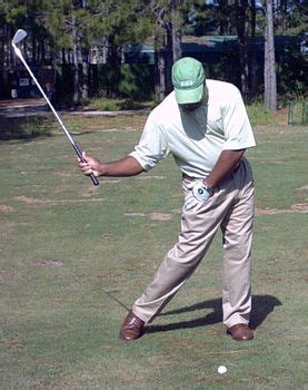 hip turn in golf swing drill hitman drill for right hip turn in the golf swing