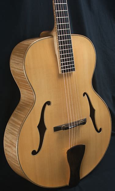 Handmade Archtop Guitars - eastman ar905 custom archtop guitar demo model