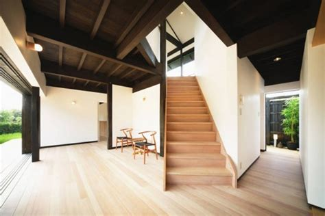 House Plans With Basement Apartments traditional japanese house with wooden stair