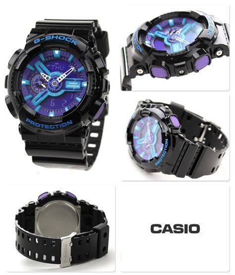 buy casio g shock hyper colors analog digital display ga 110hc 1a ga110hc buy watches