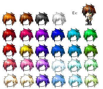 maple story hair male placs mixed hair 3 29 14 by mimihgfh on deviantart