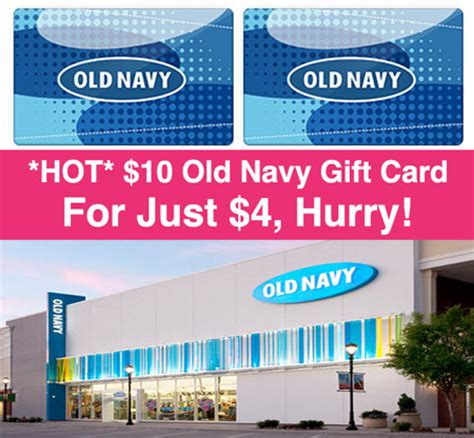 Can You Use A Old Navy Gift Card At Gap - hot 10 old navy gift card just 4 hurry