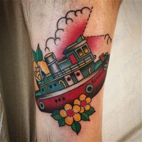 tugboat tattoo designs 57 best images about tug boat tats on