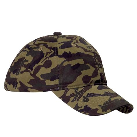 camo hat big accessories bx018 unstructured camo hat