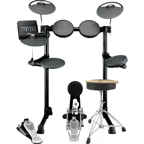 Yamaha Drum Stool by Yamaha Dtx450k Electronic Drum Kit With Stool And Sticks