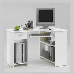 Small White Computer Desk Small Corner Desk For Small Space Homefurniture Org