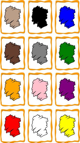 color flashcards colors flashcards 12 free printable flashcards