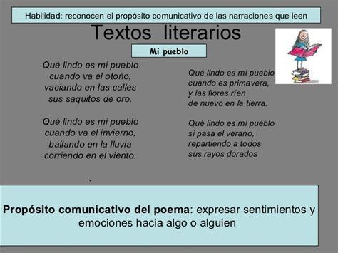 imagenes textos literarios finalidad textos literarios y no literarios