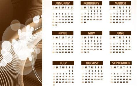 table calendar design vector 2011 table calendar vector free download