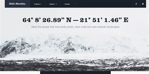 25 beautiful amp clean web design examples