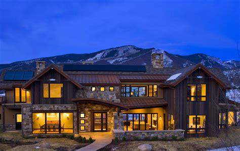 excellent design modern and contemporary mountain home