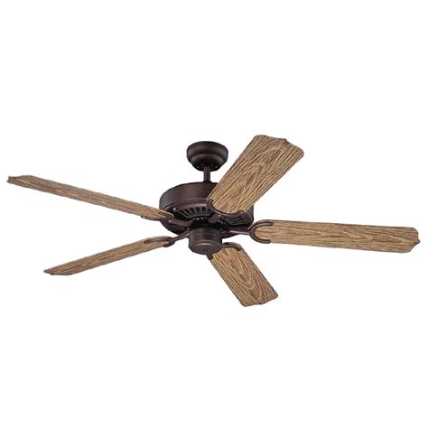 Lowes Outdoor Ceiling Fans by Shop Monte Carlo Fan Company Weatherford 52 In