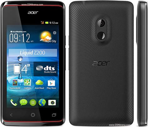 Hp Acer Tipe Z200 acer liquid z200 pictures official photos