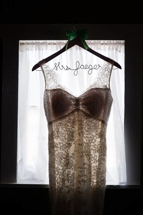 Wedding Dress Hanger wedding hangers for your wedding dress chic stylish
