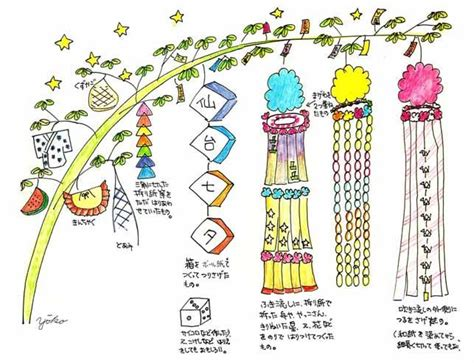 How To Make Tanabata Decorations 143 best tanabata images on