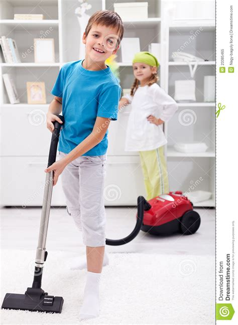 clean the room cleaning the room using a vacuum cleaner stock image image 23385465