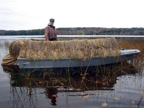 low profile duck boat blind snow goose devlin designing boat builders
