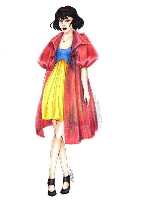 fashion illustration zyra 333 zyra banez snow white design disney and drawings