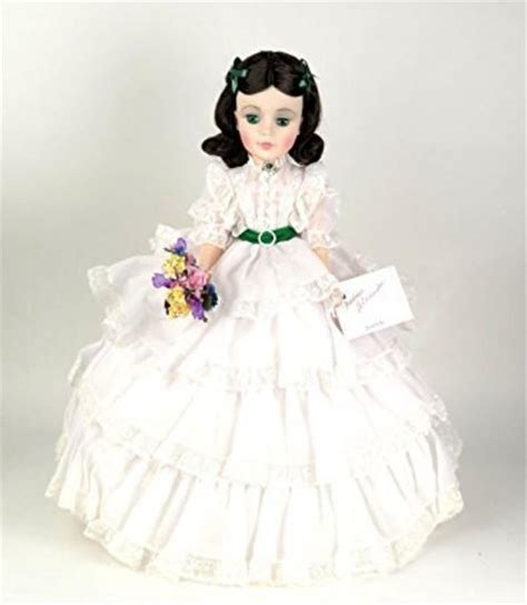 black doll value guide madame o hara layed white gown box