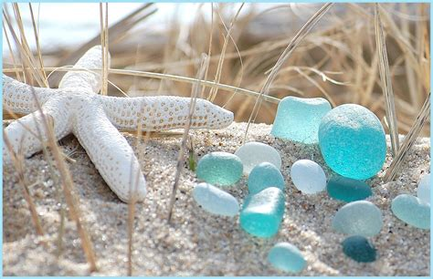 beach of glass sea glass on pinterest