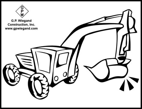 construction vehicles coloring pages coloring home