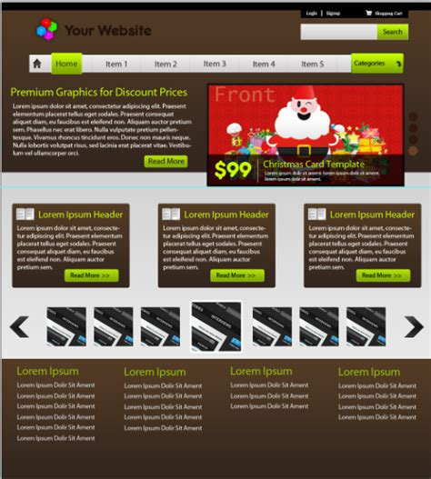 tutorial website gallery 30 fresh and high quality photoshop web layout tutorials