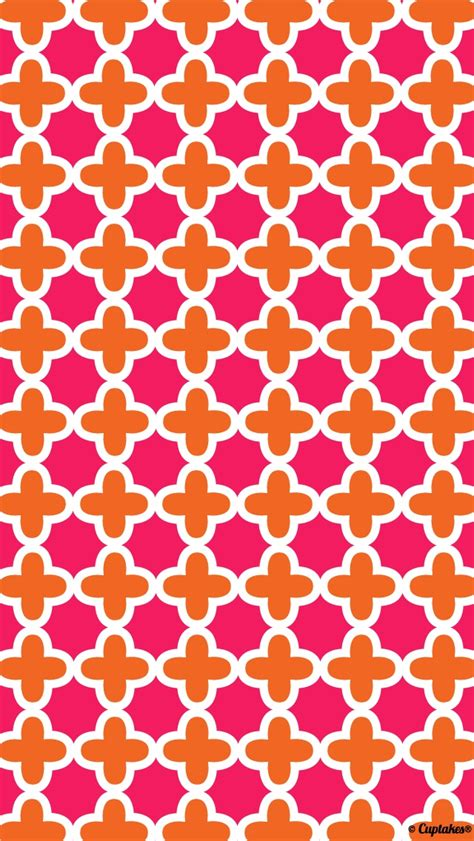 wallpaper pink and orange crosses pattern wallpaper wallpaper wide hd