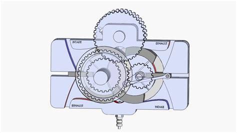 New Rotary Engine by New Pistonless Rotary Engine Circular Engine