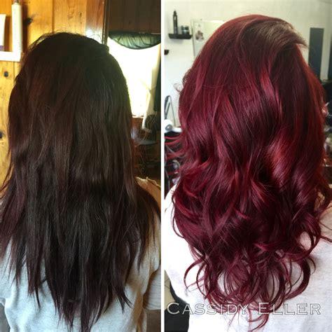Miranda Hair Color Brown 60ml wine hair dye uphairstyle