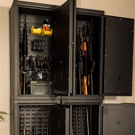 cabinet with gun storage agile model 40 secureit gun storage