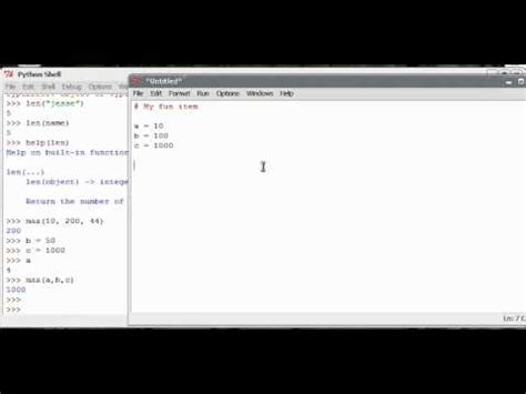 python tutorial queue python tutorial 3 functions and help youtube