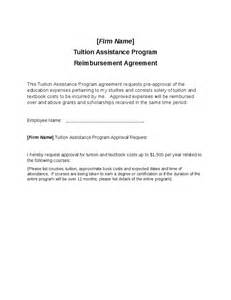 Letter Of Agreement Reimbursement Tuition Assistance Program Reimbursement Request Hashdoc