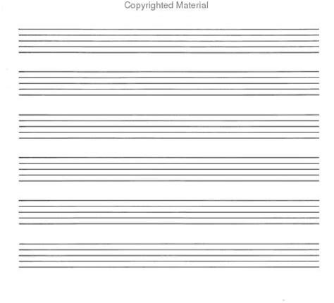 printable wide staff paper sheet music music manuscript paper wide staff stationery