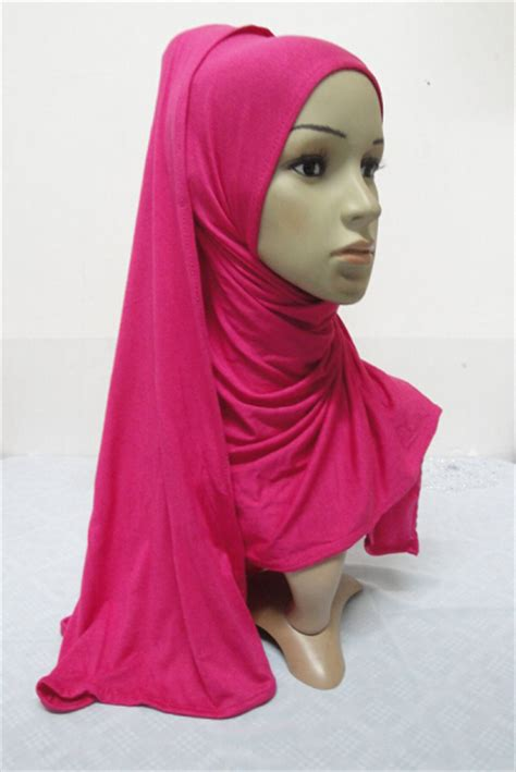 Amira Instant Bunga Pastan Limited s623 new style big size pull on amira instant cotton jersey muslim scarf fast delivery in