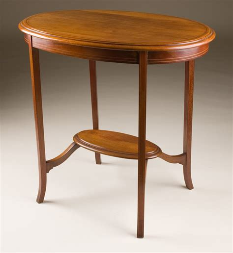 Occasional Tables Antique Oval Occasional Table