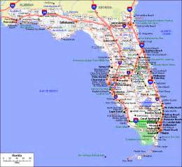 florida road map map html