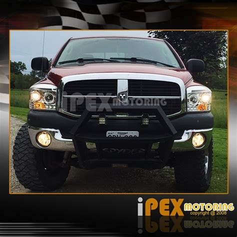 2006 dodge ram 2500 fog lights 2006 2007 2008 dodge ram 1500 2500 3500 halo led projector