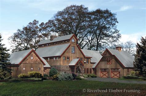 barn style home plans timber barn floor plans mywoodhome com