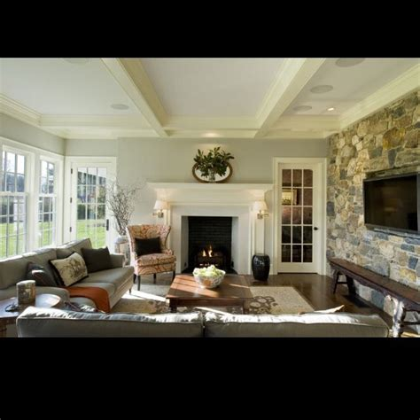 layout  tv  fireplace  separate walls
