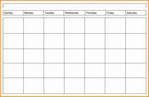 calendar template weekly 4 weekly calendar template expense report