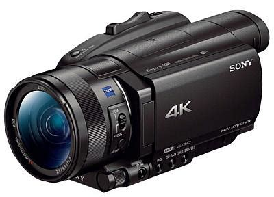 sony > sony fdr ax700 professional video camera now