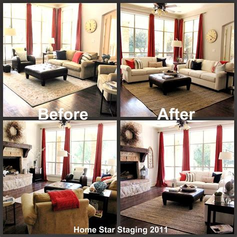 Home Decor Before And After by 18 Best Staged Homes Before And After Images On