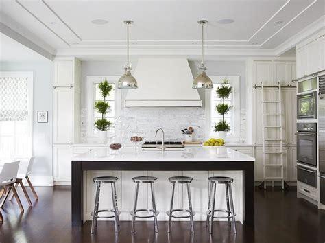 Dark Wood Kitchen Island Trim Design Ideas
