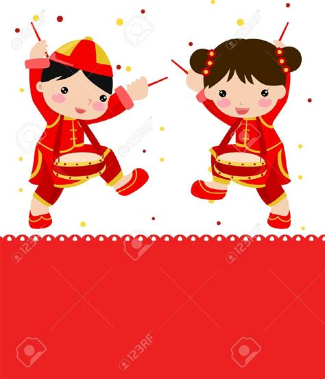 new year kid vector new year lanterns clipart 60