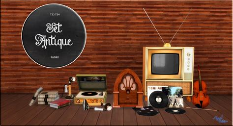 my sims 4 blog 02 11 16 my sims 4 blog ts2 antique tv radios functional music