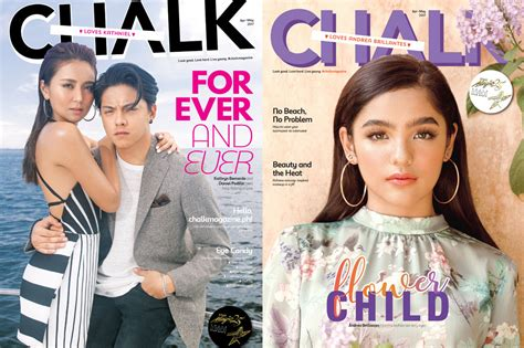 Whos News Lifestyle Magazine 29 by Look Who S On The Cover Of Chalk S Print Issue