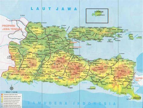 Bahasa Jawa Xb peta jawa peta jawa timur