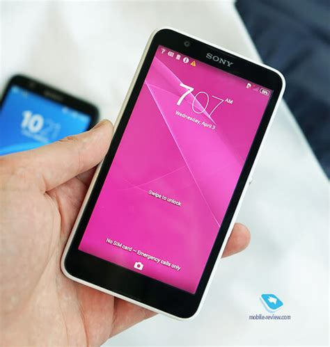 what does e4 xperia e4 on official look