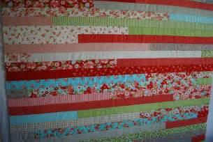 crafty garden jelly roll race quilt tutorial